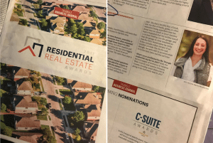 photo of the triad business journal in which jacklyn smith properties is featured